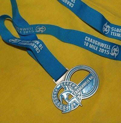 Craughwell 10 2015 Medal