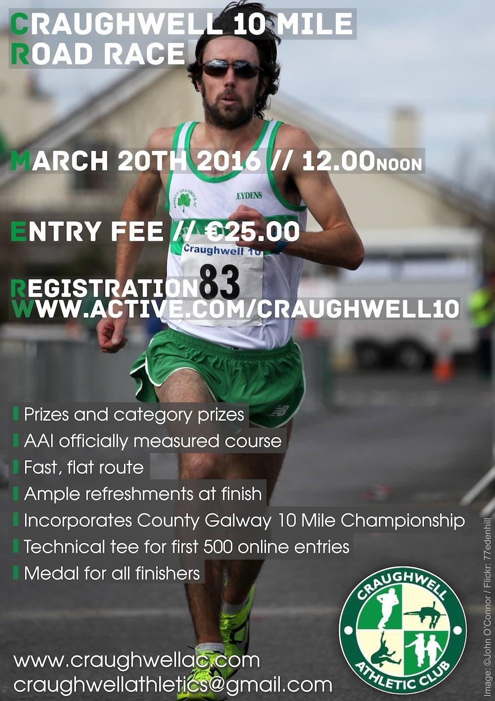 Craughwell 10 Flyer 2016