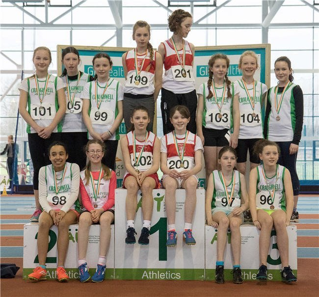 u13 100m relay